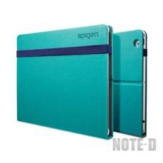 เคส New iPad แบบปกหนังสือแข็ง สีเขียว