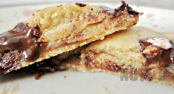 รูป 4 สอนทำคุ้กกี้ช็อกโกแลตมาร์ชเมลโล่