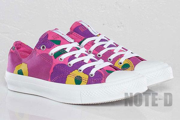 รองเท้า Converse All-Star Marimekko ลายดอกไม้