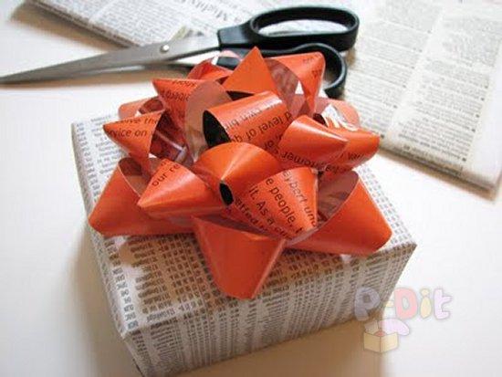 รูป 1 สอนทำโบว์ ตกแต่งกล่องของขวัญ