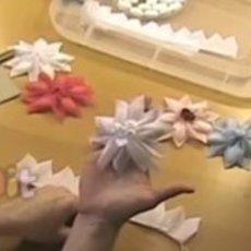 สอนทำดอกไม้กระดาษ สวยๆ