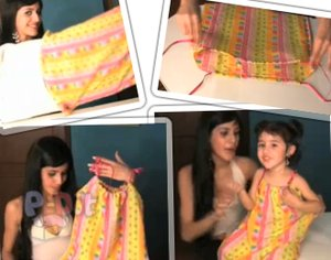 สอนทำชุดเดรส สำหรับเด็ก จากปลอกหมอน
