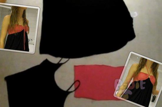 รูป 1 สอนทำชุดเดรส จากเสื้อผ้าตัวเก่า