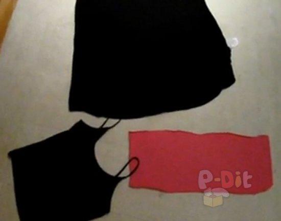 รูป 4 สอนทำชุดเดรส จากเสื้อผ้าตัวเก่า