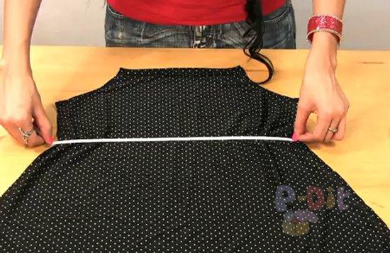 รูป 5 สอนตัดชุดใส่เอง ชุดเดรส แบบผูกคอ สวยๆ