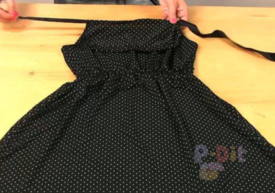 รูป 6 สอนตัดชุดใส่เอง ชุดเดรส แบบผูกคอ สวยๆ
