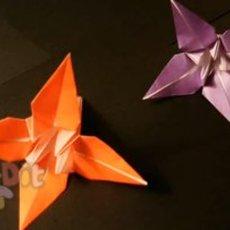 สอนพับดอกไม้ประดิษฐ์ ทำจากกระดาษ
