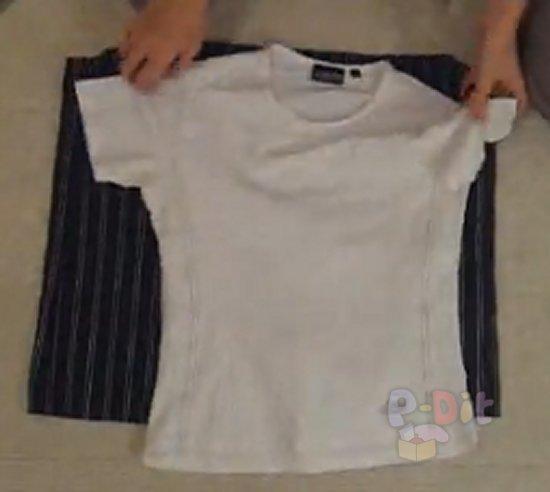 รูป 2 สอนทำชุดเดรส จากเสื้อยืด + กระโปรง