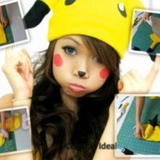 สอนทำหมวกมาสคอท ปิกะจู น่ารักๆ