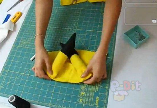 รูป 6 สอนทำหมวกมาสคอท ปิกะจู น่ารักๆ