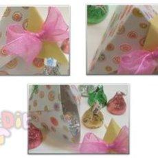 สอนพับกล่องใส่ของขวัญน่ารักๆ รูปพีระมิด