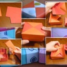 สอนพับกล่องใส่ของขวัญสวยๆ
