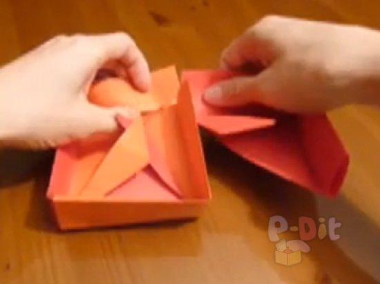 รูป 5 สอนพับกล่องใส่ของขวัญสวยๆ