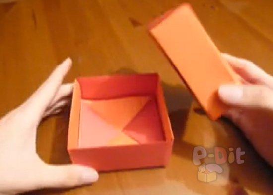 รูป 6 สอนพับกล่องใส่ของขวัญสวยๆ