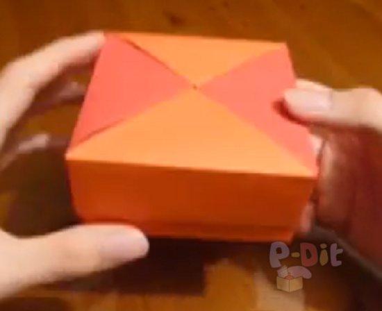 รูป 7 สอนพับกล่องใส่ของขวัญสวยๆ