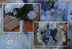วิธีจัดช่อดอกไม้ งานแต่งงาน