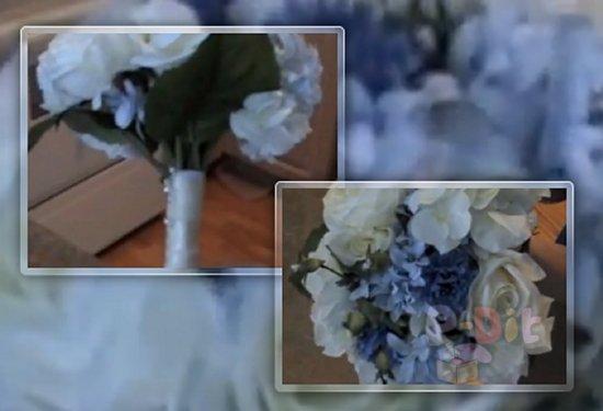 รูป 1 วิธีจัดช่อดอกไม้ งานแต่งงาน