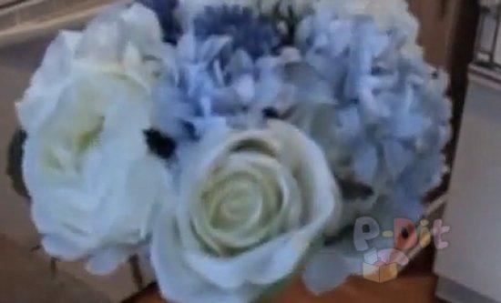 รูป 2 วิธีจัดช่อดอกไม้ งานแต่งงาน