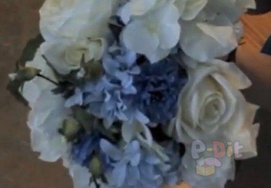 รูป 3 วิธีจัดช่อดอกไม้ งานแต่งงาน