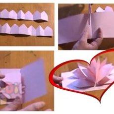 วิธีทำดอกไม้กระดาษ สวยๆ