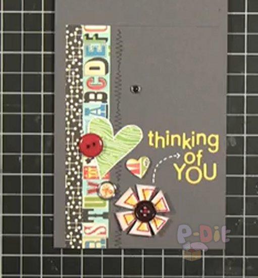 รูป 5 สอนทำการ์ด ส่งความคิดถึง สวยๆ