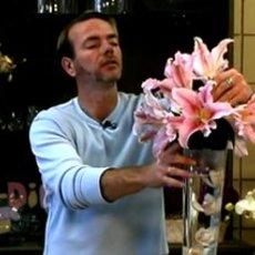 สอนแต่งแจกันดอกไม้ งานแต่งงาน