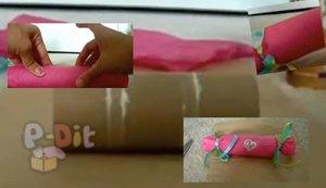 ไอเดียทำของขวัญงานปาร์ตี้ จากแกนกระดาษทิชชู่