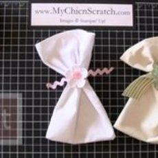 สอนทำถุงผ้า สำหรับห่อของขวัญ ชิ้นเล็กๆ
