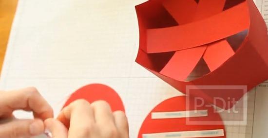 รูป 2 ทำกล่องกระดาษสวยๆ สำหรับใส่ของ ทรงหกเหลี่ยม