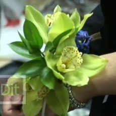 สอนทำดอกไม้ติดข้อมือ งานพรอม งานแต่งงาน งานมงคลต่างๆ