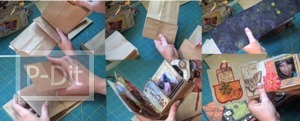 สอนทำอัลบั้มเก็บรูปถ่าย จากถุงกระดาษ