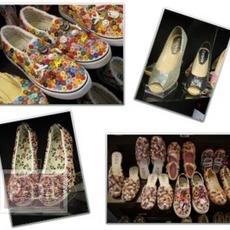รองเท้ากระดุม House of Siree รองเท้าแฮนด์เมด