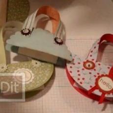 วิธีทำถุงกระดาษ สำหรับใส่ของขวัญ ชิ้นเล็กๆ