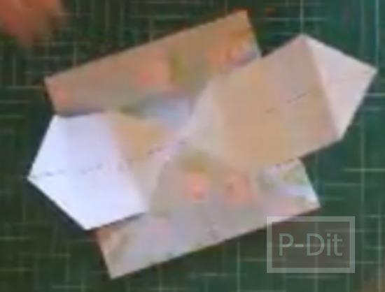 รูป 3 สอนพับกระดาษ สำหรับใส่ขนม น่ารักๆ