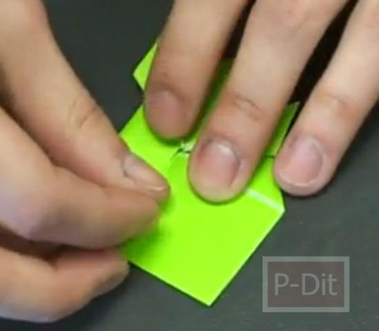 รูป 3 คลิปสอนพับกบกระดาษ กระโดดได้