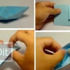 สอนพับเรือกระดาษ