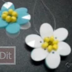 วิธีทำดอกไม้ จากเส้นลวด พลาสติกสวยๆ