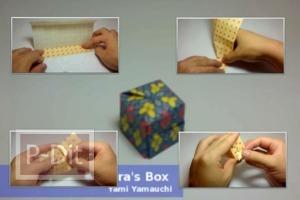 สอนทำกล่อง เล็กๆ สำหรับทำเป็นของแจก ของชำร่วย