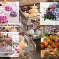 ไอเดียจัดดอกไม้ ประดับโต๊ะงานแต่งงาน