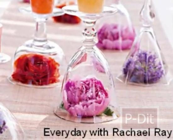 รูป 3 ไอเดียจัดดอกไม้ ประดับโต๊ะงานแต่งงาน