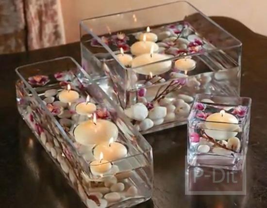 รูป 4 ไอเดียจัดดอกไม้ ประดับโต๊ะงานแต่งงาน