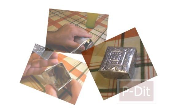 รูป 1 สอนทำกล่องสวยๆ จากกระป๋องน้ำอัดลม-เบียร์