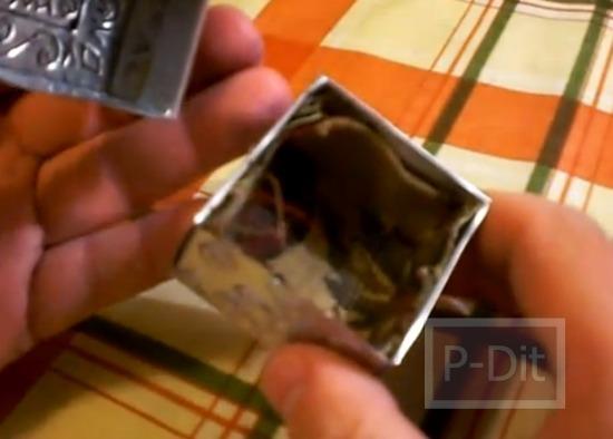 รูป 3 สอนทำกล่องสวยๆ จากกระป๋องน้ำอัดลม-เบียร์