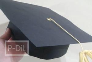 สอนทำหมวกจบการศึกษา