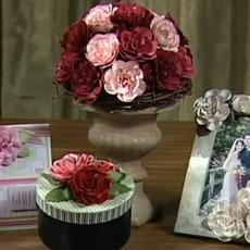 สอนทำดอกกุหลาบ สำหรับตกแต่ง แจกัน กรอบรูป…