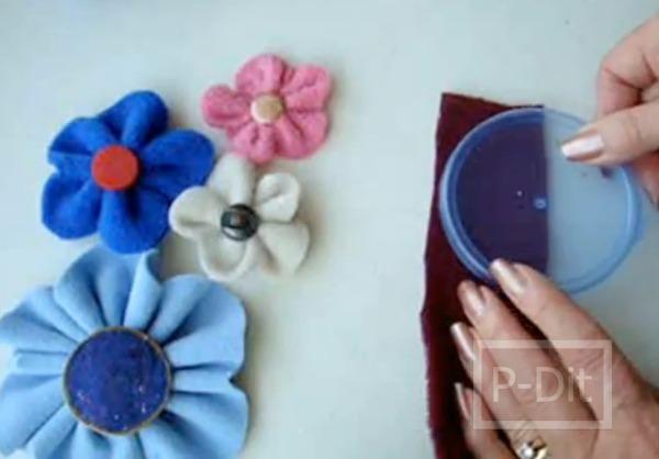 รูป 2 ดอกไม้ผ้า