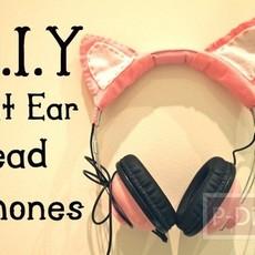 ตกแต่งหูฟัง ให้เป็นหูแมว