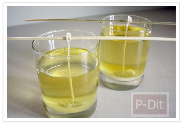 รูป 3 ทำเทียนไข ใส่แก้ว