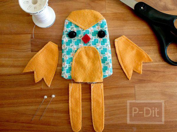 รูป 2 สอนทำตุ๊กตา จากเศษผ้า