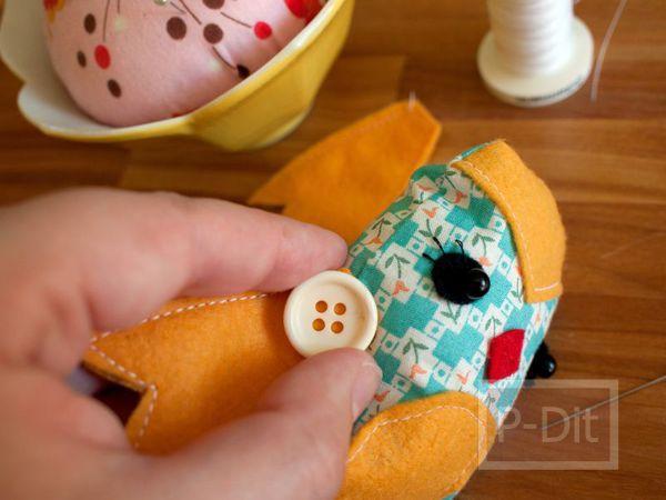 รูป 3 สอนทำตุ๊กตา จากเศษผ้า